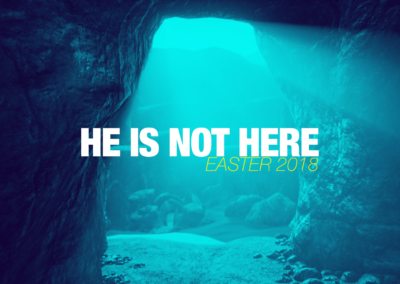 He Is Not Here